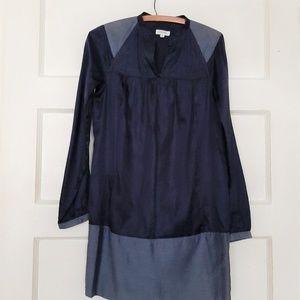 Generra Silk Blend Tunic Shift Dress